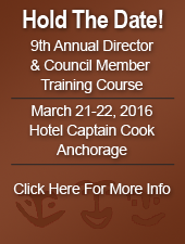 9th Annual Director & Council Member Training Course